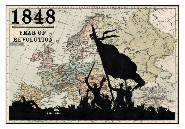1848 - Year of Revolution, Acrylic painting by Peter Walters | Artfinder