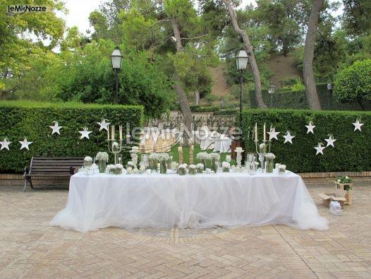 Oltre 25 fantastiche idee su matrimoni in giardino su for Decorazione giardino matrimonio