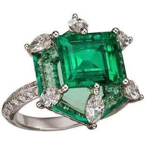 Bogh-Art Emerald Diamond Ring