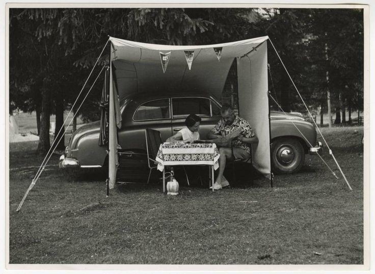 Campeggio Tci a Canazei 1952   #TuscanyAgriturismoGiratola