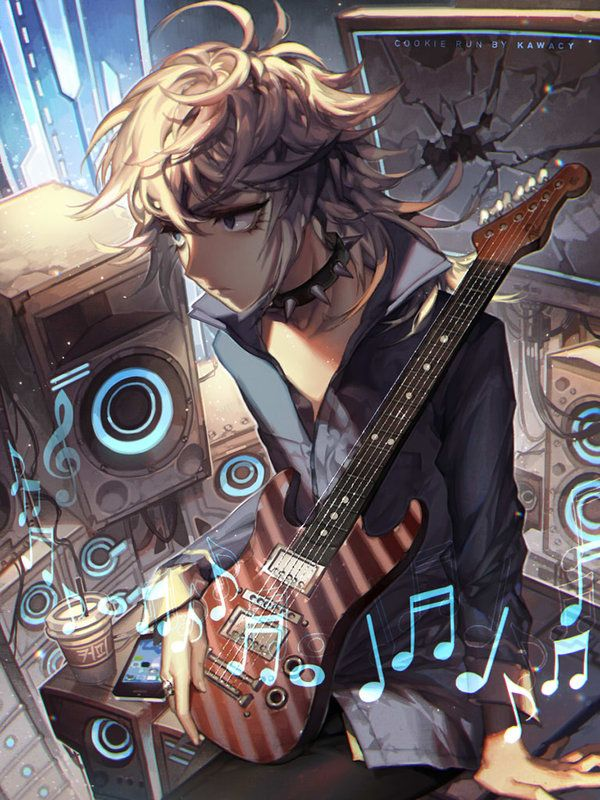 Don't stop the music by kawacy, Digital Painting, Anime