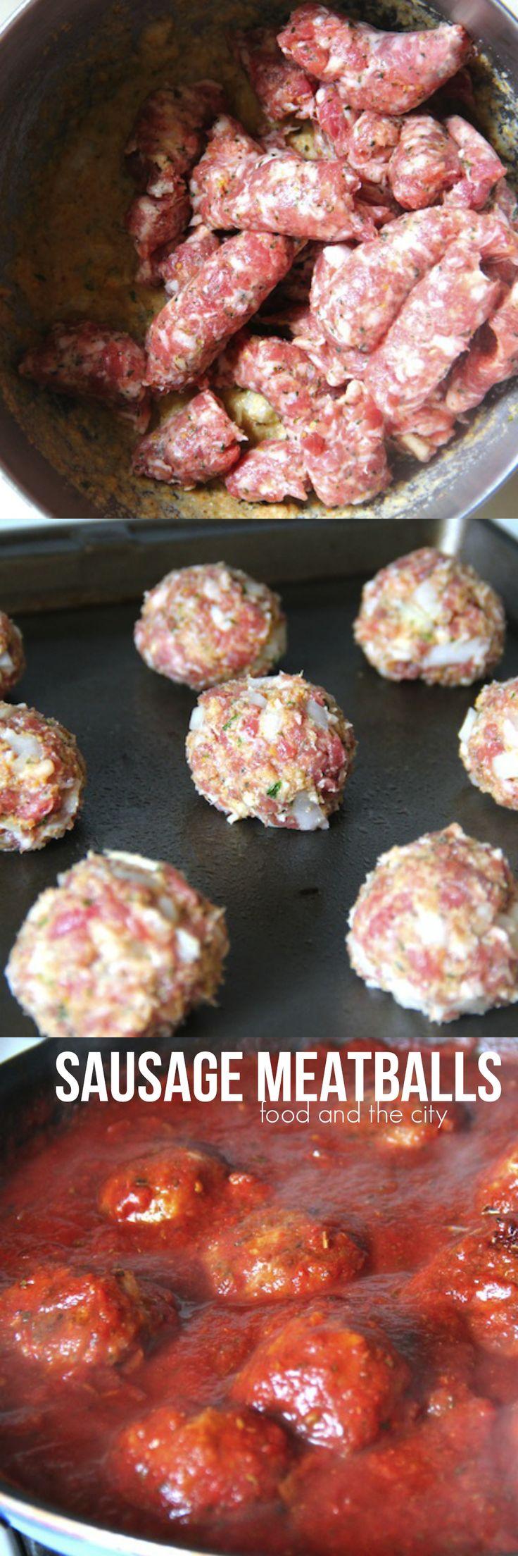 Sausage Meatballs like ma' used to make! | Food and the City