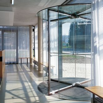 This is an image of the DORMA revolving door KTV ATRIUM.