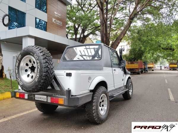 Time For Some Bling Prad4x4 Equipped Mahindra Thar Spec
