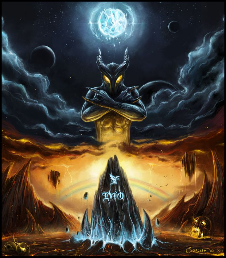 Heaven and Hell Tribute to DIO by AlexanderExorcist.deviantart.com on @deviantART