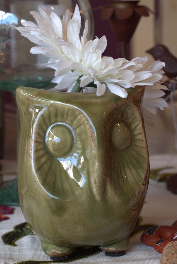 Baby Owl Planter