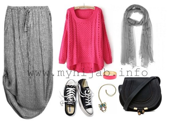 Casual Hijab Style Fashion Pinterest Casual Hijab Styles And Fashion
