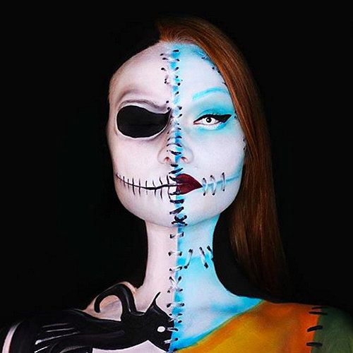 19 Halloween Makeup Tutorials You Have to See to Believe
