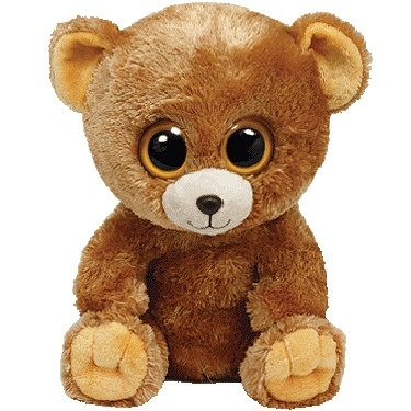 Ty Beanie Boos-Honey the Bear! He is so cute, and I REALLY REALLY REALLY want…