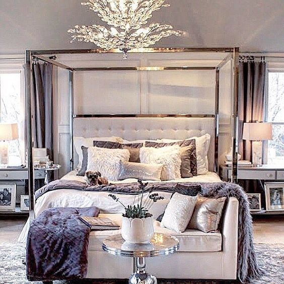 1000 ideas about glamorous bedrooms on pinterest bedrooms glamorous living rooms and modern - Elegant master bedroom design ideas packing comfort in luxury ...