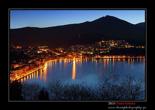 Kastoria at Night...::[HDR]
