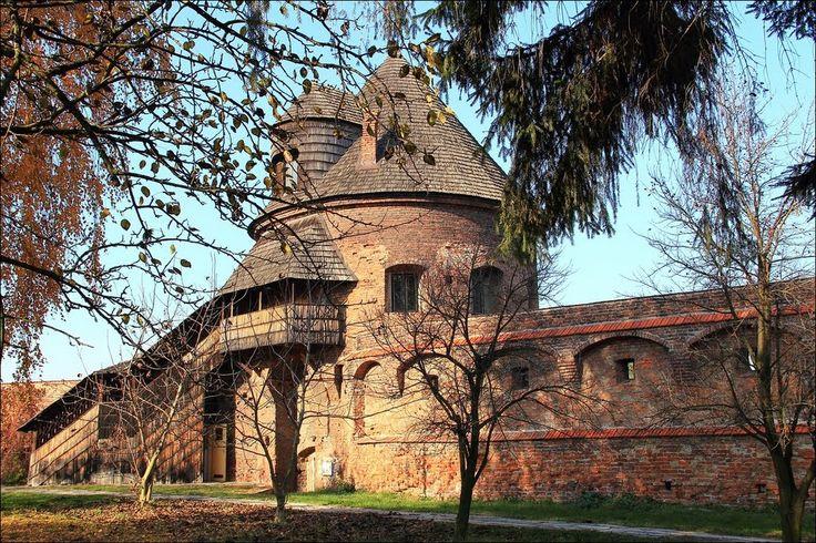 Benedictine abbey - walls