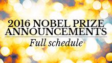 The 2016 Nobel Prize in Physiology or Medicine - Press Release.