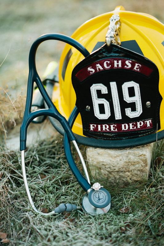 Firefighter and Physician Assistant Winter Engagement Photo By Tucker Images. Arbor Hills Nature Preserve, Plano, Tx. Meridith and Zane.
