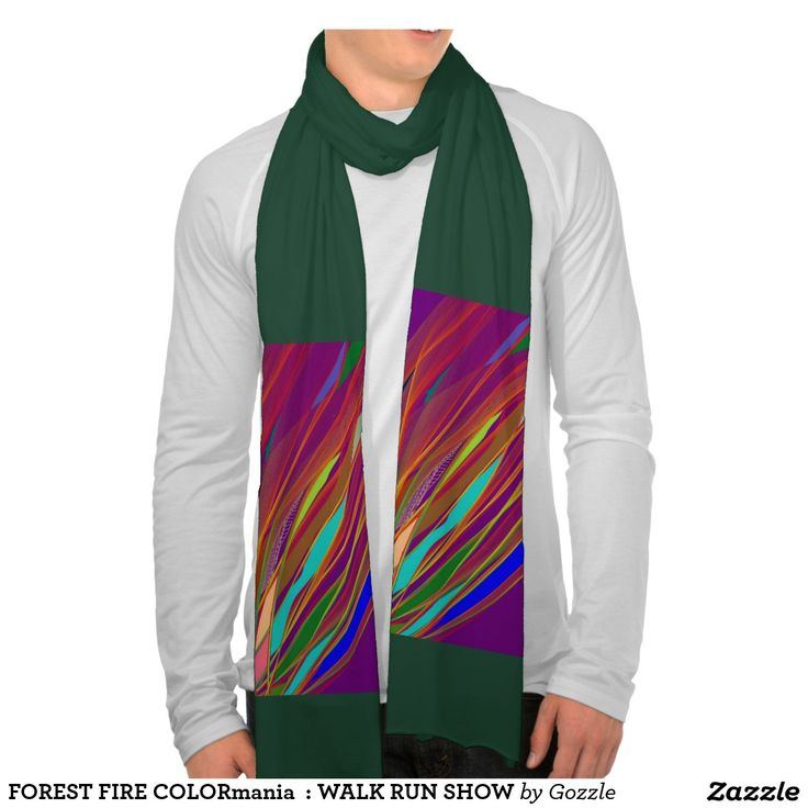 FOREST FIRE COLORmania  : WALK RUN SHOW Scarves