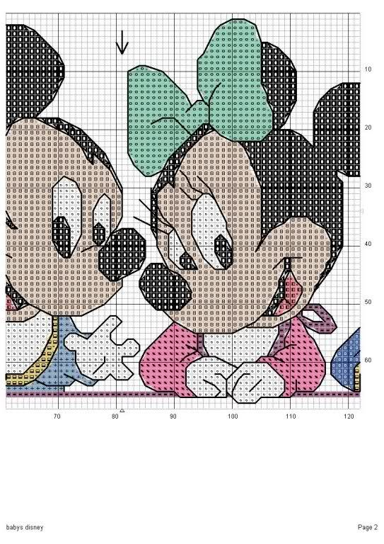 118 best ideas about mickey mouse punto en cruz on - Manualidades en punto de cruz ...