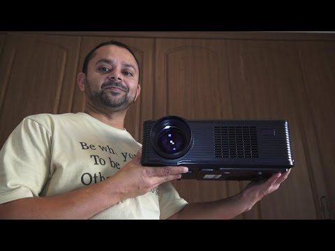 Build a 100 inch Screen Home Theater with HD LED Projector