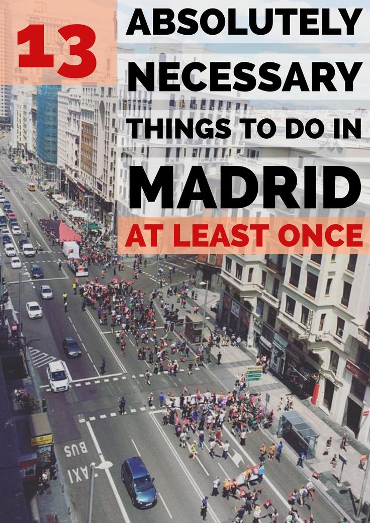 Madrid, a one-of-a-kind city! Welcome to Madrid – here's what you should do at least once! @Spotahome