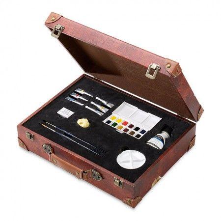 Winsor & Newton Professional Watercolor Suitcase Set