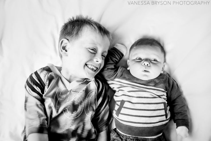 Little Jayden and baby Ollie! #baby #photography #toddler #siblings #blackandwhite