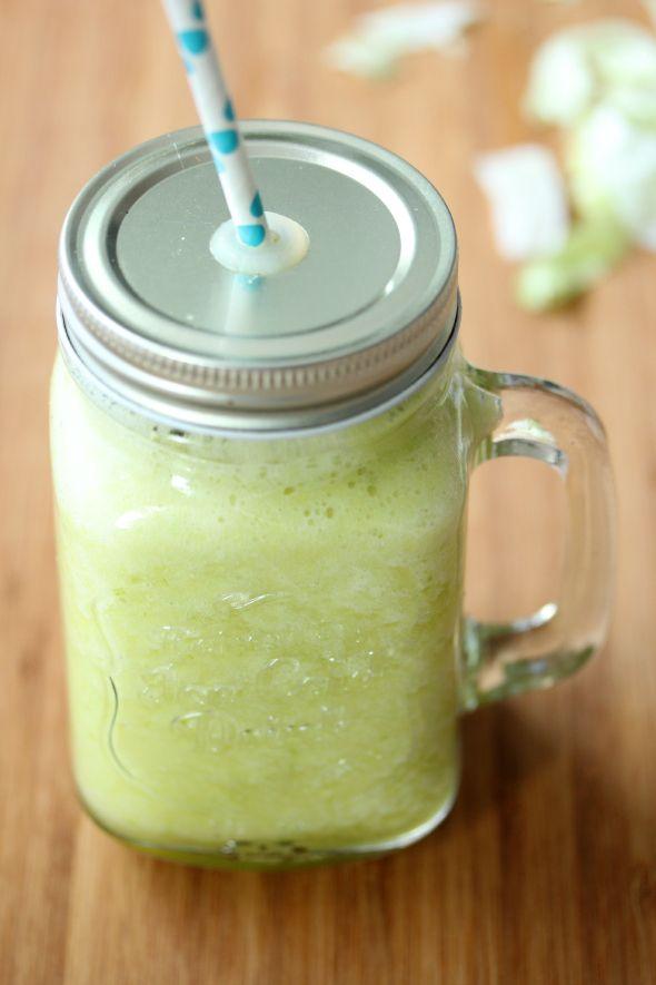 I Love Health | Groene smoothie met ananas and sla || ja, sla! | http://www.ilovehealth.nl