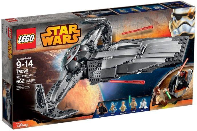 Comparez les prix du LEGO Star Wars 75096 Le vaisseau Infiltrator Sith de Dark Maul avant de l'acheter ! Infos, description, images, vidéos et notices du LEGO 75096 Le vaisseau Infiltrator Sith de Dark Maul sur Avenue de la brique