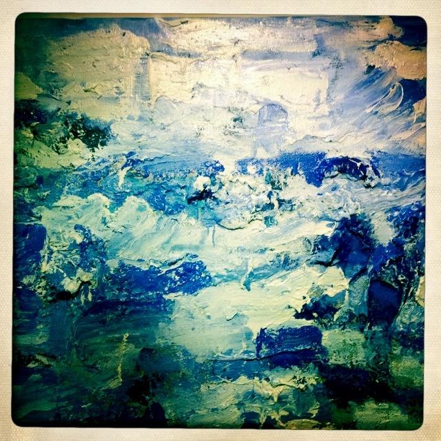 Jan Cremer Sea painting