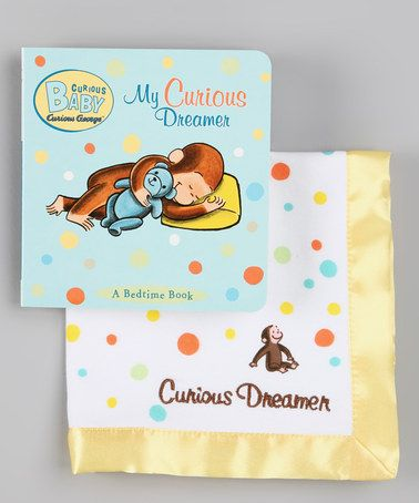 Take a look at this Curious George My Curious Dreamer Board Book & Blanket by Curious George on #zulily today!