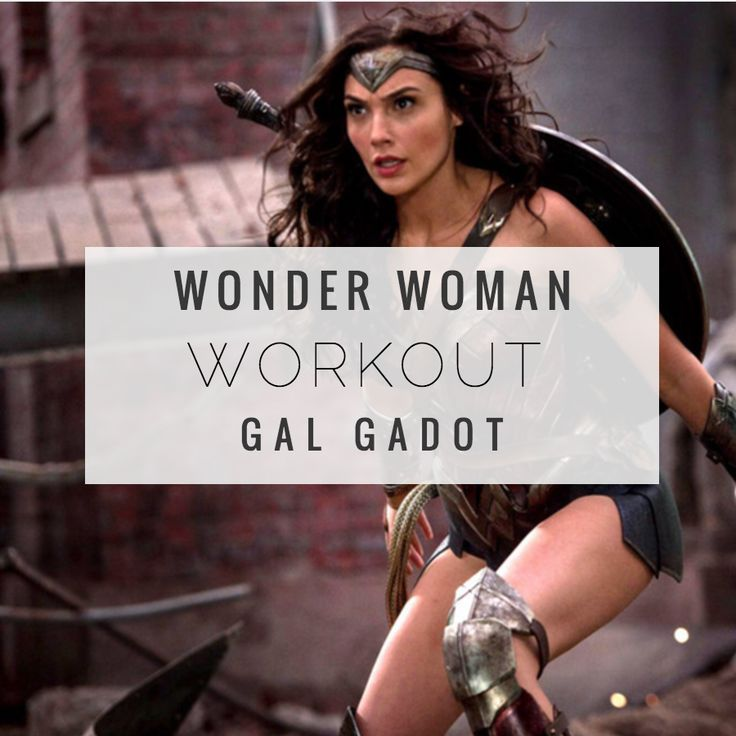 Celebrity workouts - Follow the superhero workout Gal Gadot used to get in shape for her role as wonder woman!