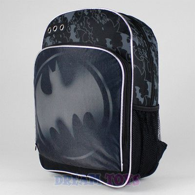 Dc Comics Batman Backpack Black Bat Call Logo 16 Quot Large