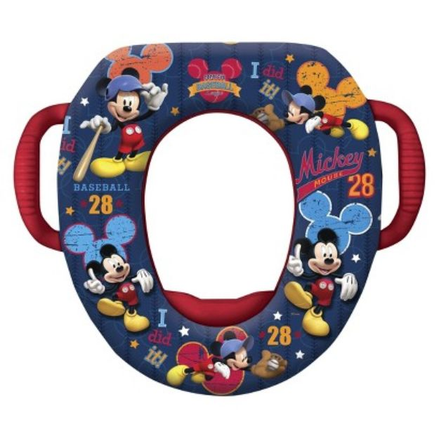 I'm learning all about Ginsey Disney Soft Potty - Mickey Mouse (with hook) at @Influenster!