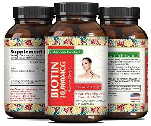 Pure And Potent Biotin Supplements To Combat Hair Loss  Support Hair Growth  Aid In Weight Loss For Men And Women - Natural Vitamins For Hair Growth - Can Help Reduce Thinning Hair