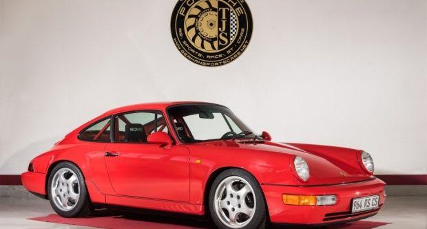 1991 Porsche 911 / 964 Carrera RS - 964 RS Clubsport NGT M003, 2 Hd., deutsch