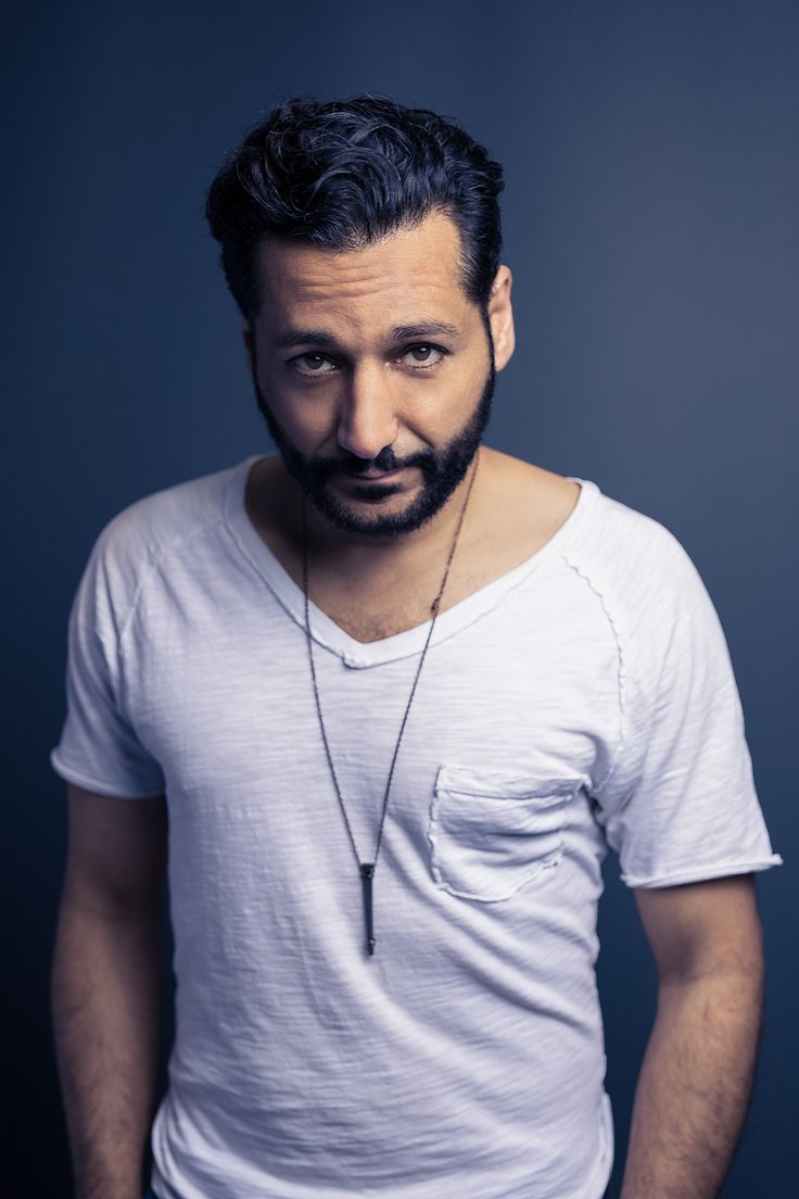 Think ThePullMagazine website got awesome portrait here with Cas Anvar off from The Expanse series.
