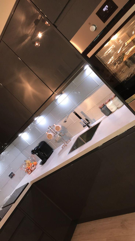 Wickes grey gloss Sofia kitchen Wickes, Wickes kitchens