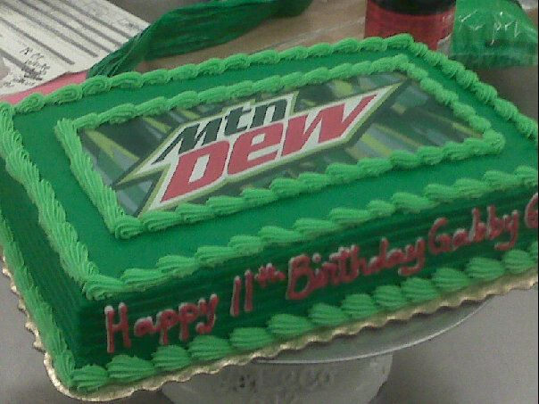 Mountain Dew cake
