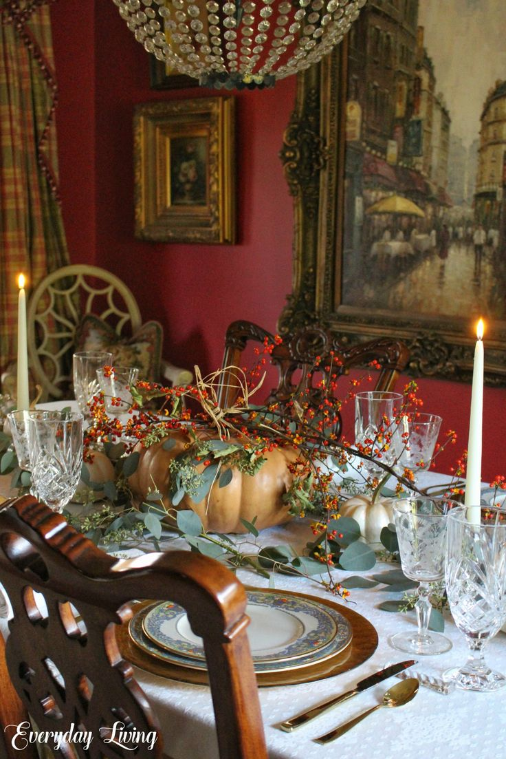 Thanksgiving Tablescape: Bittersweet Traditions in 2020 ...