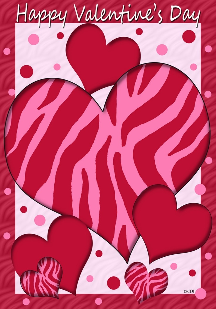 IAmEricas Flags   Zebra Red Hot Valentine Garden Flag, $14.00 (http://