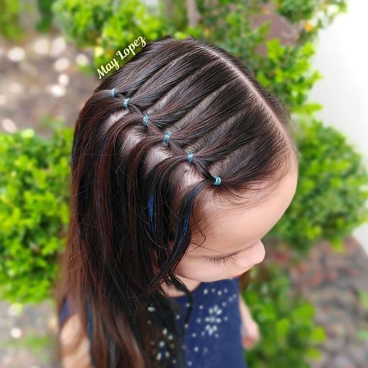 Siguenos En Facebook Peinados Cabello Corto Nina Peinados Infantiles Peinado Facil