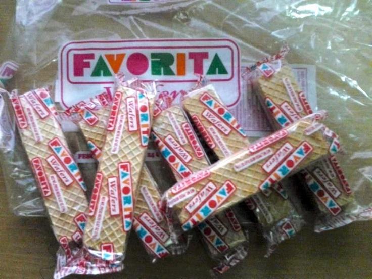 favorite puertorican waffles cookies...don't forget the Bimbo cookies:)