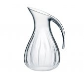 Guzzini Aqua Blown Jug, Clear - Perfect match for the Guzzini tray and for those summer cocktails.