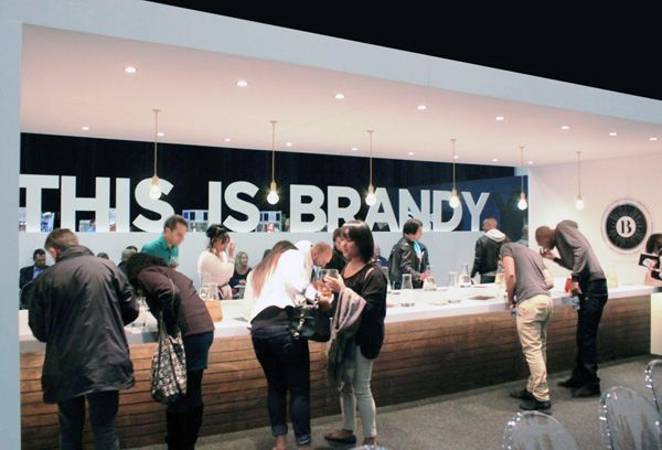 This is Brandy exibition stand by Greencherry Interiors http://greencherrylife.com/