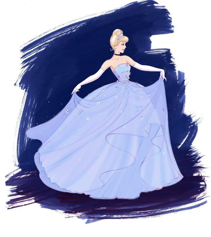 Платья Золушки от ведущих российских дизайнеров возвращаются в ЦУМ | Disney Fashion