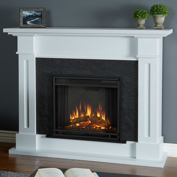 Best 25 Electric Fireplace With Mantel Ideas On Pinterest Living Room Ideas Electric