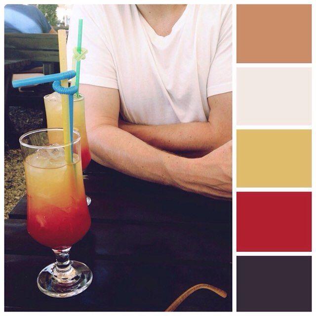 ah #summer memories #colourlovers #colorscheme #palette #mossomcolours #colourscheme #colourpalette