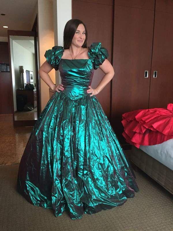80s Prom Dresses L Xl - Plus Size Tops