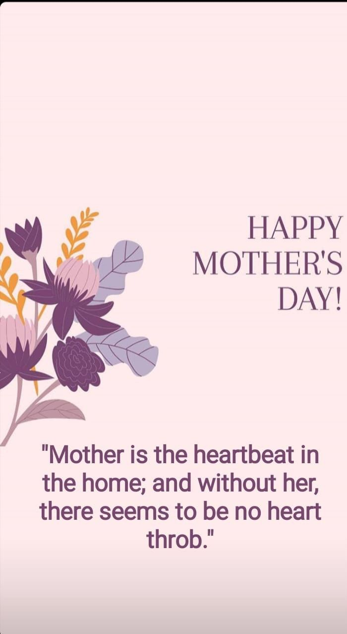 Happy Mother S Day Happy Mothers Day Happy Mothers Mothers Day Quotes