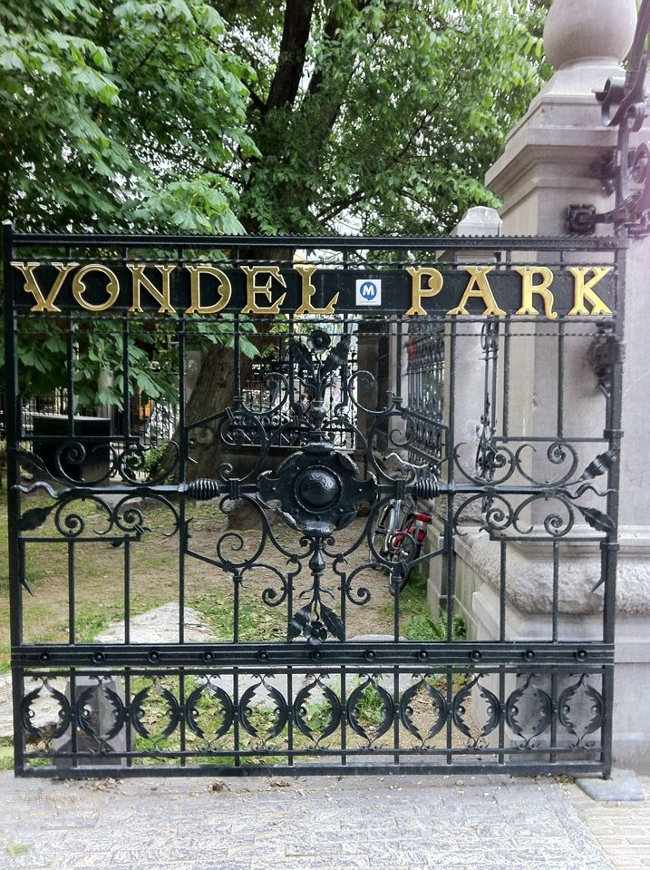 Vondelpark, Amsterdam. Great place to spend a summer's evening.