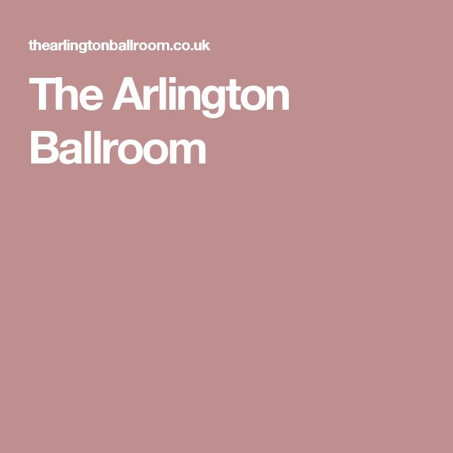 The Arlington Ballroom