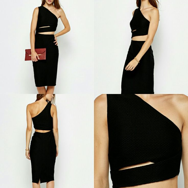 Available now for a Limited Time to our Facebook Fans ONLY!  Not on our website.    One Shoulder Open Waist Dress in Black.   ONLY £15 + £2.50 p&p. Usually £29.99!  Available in sizes 8, 12 and 14.   Inbox for details of how to order.   www.Facebook.com/fashions4u.uk